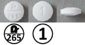 プレドニゾロン錠1mg(旭化成)