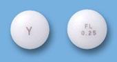 フルメジン糖衣錠(0.25)