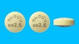 アムロジンOD錠2.5mg