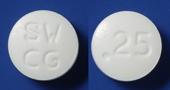 カベルゴリン錠0.25mg「サワイ」[乳汁漏出症など]