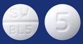 ビソプロロールフマル酸塩錠5mg「サワイ」