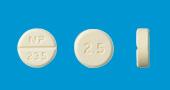 プレドニゾロン錠2.5mg「NP」
