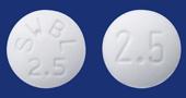 ビソプロロールフマル酸塩錠2.5mg「サワイ」