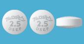アムロジピン錠2.5mg「DSEP」
