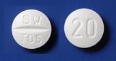 タンドスピロンクエン酸塩錠20mg「サワイ」