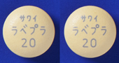 ラベプラゾールNa錠20mg「サワイ」
