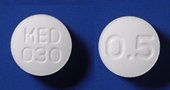 ドキサゾシン錠0.5mg「MED」