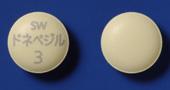 ドネペジル塩酸塩錠3mg「サワイ」