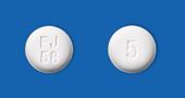 アレンドロン酸錠5mg「F」