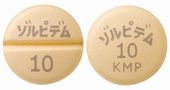 ゾルピデム酒石酸塩錠10mg「KMP」