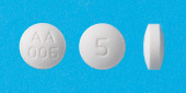 パロキセチン錠5mg「AA」