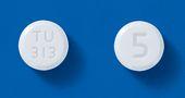 アレンドロン酸錠5mg「TCK」