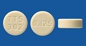 プラミペキソール塩酸塩錠0.125mg「タカタ」[レストレスレッグス症候群治療剤]