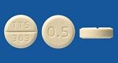 プラミペキソール塩酸塩錠0.5mg「タカタ」[ドパミン作動性パーキンソン病治療剤]