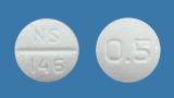 プラミペキソール塩酸塩錠0.5mg「日新」