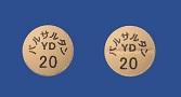 バルサルタン錠20mg「YD」