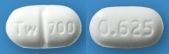 ビソプロロールフマル酸塩錠0.625mg「トーワ」