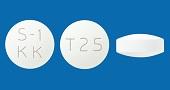 エスワンケーケー配合錠T25
