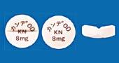 カンデサルタンOD錠8mg「KN」[心不全]