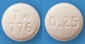 エチゾラム錠0.25mg「トーワ」