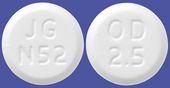 ゾルミトリプタンOD錠2.5mg「JG」