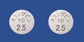 オランザピン錠2.5mg「YD」