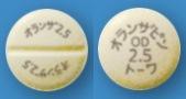 オランザピンOD錠2.5mg「トーワ」