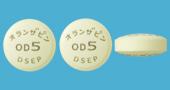 オランザピンOD錠5mg「DSEP」