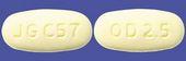 オランザピンOD錠2.5mg「JG」