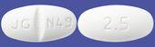 カルベジロール錠2.5mg「JG」