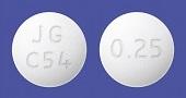 ロピニロール錠0.25mg「JG」