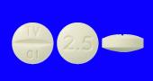 オランザピンOD錠2.5mg「テバ」