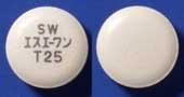 エスエーワン配合OD錠T25