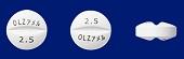 オランザピン錠2.5mg「アメル」