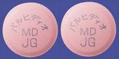 バルヒディオ配合錠MD「JG」