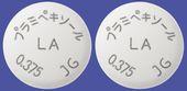 プラミペキソール塩酸塩LA錠0.375mgMI「JG」