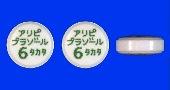 アリピプラゾール錠6mg「タカタ」