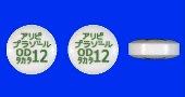 アリピプラゾールOD錠12mg「タカタ」