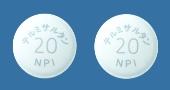 テルミサルタン錠20mg「NPI」