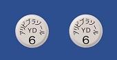 アリピプラゾール錠6mg「YD」