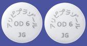 アリピプラゾールOD錠6mg「JG」