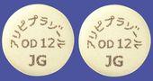 アリピプラゾールOD錠12mg「JG」