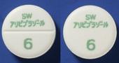 アリピプラゾール錠6mg「サワイ」