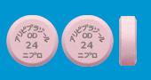 アリピプラゾールOD錠24mg「ニプロ」