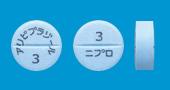 アリピプラゾール錠3mg「ニプロ」