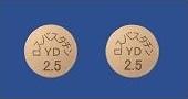 ロスバスタチン錠2.5mg「YD」