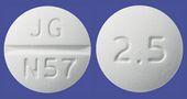 ビソプロロールフマル酸塩錠2.5mg「JG」
