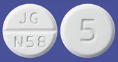 ビソプロロールフマル酸塩錠5mg「JG」