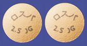 ロスバスタチン錠2.5mg「JG」