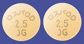 ロスバスタチンOD錠2.5mg「JG」